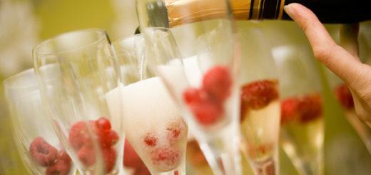 bicchieri per brindare al nuovo anno